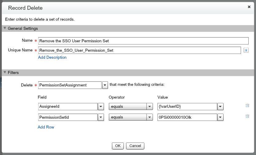 Temporarily Remove a Permission Set w/ Process Builder & Flow
