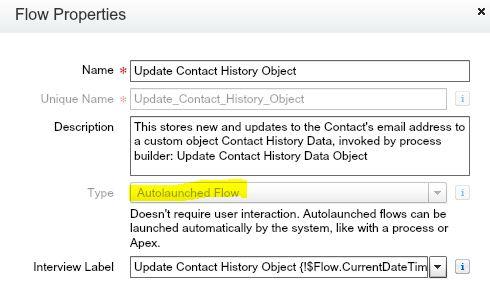 UpdateContactHistoryObjectVisualFlow-Properties.JPG