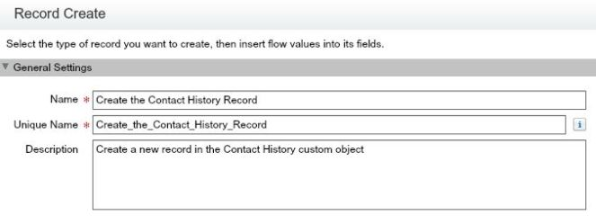 Capture Selected Field History Data Using Process Builder
