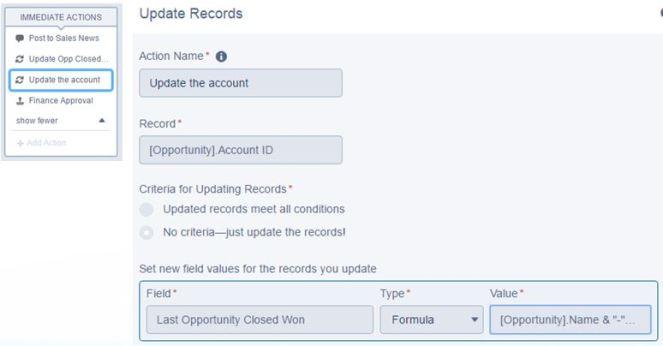 ProcessBuilder-UpdateaRecord-Acct
