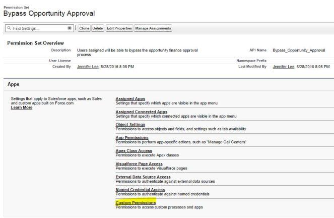 BypassOpportunityApprovalPermissionSet-CustomPermissions.JPG