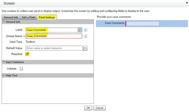 AddCaseComment-Screen-Text-FieldSettings.JPG