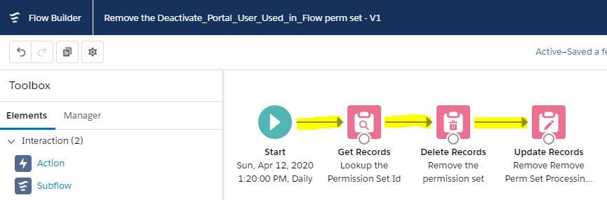 RemoveDeactivatedPortalUserUsedinFlowPermSetFlow-Connectors.JPG
