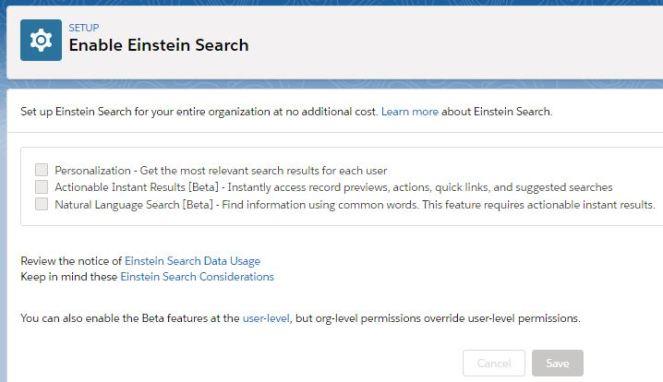 EnableEinsteinSearch