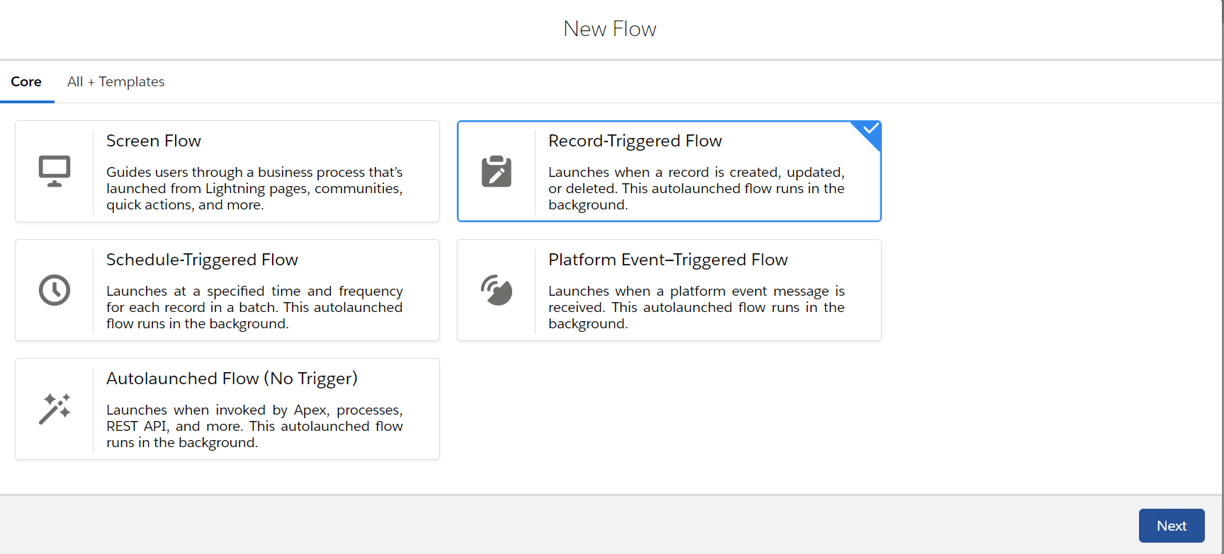 NewFlow-RecordTriggeredFlow