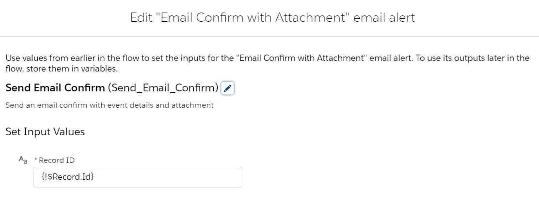 SendEmailConfirmationWIthEventDetailsandAttachment-Action