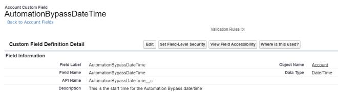 AutomationBypassDateTime