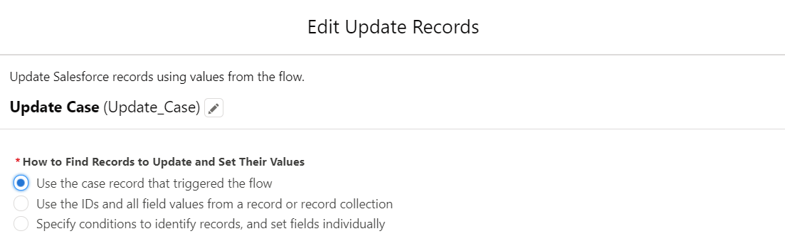UpdateRecordsFlow