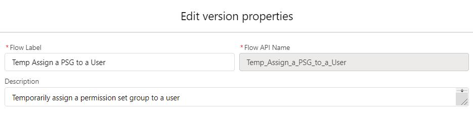 TempAssignaPSGtoaUser-Flow-Properties